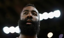 Rockets' James Harden Reportedly Broke The Finger Of A Photographer When Asked About Donald Trump