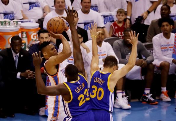 Golden State Warriors v Oklahoma City Thunder - Game Three