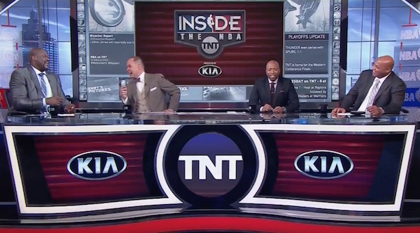 Inside the NBA - Barkley Space Jam