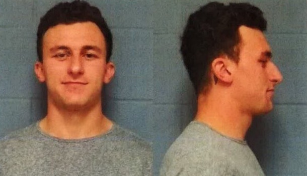 Johnny Manziel Mugshot