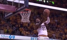 LeBron James Throws Down Vicious Reverse Jam During Game 2 Win (Video)