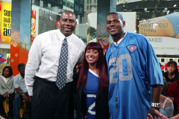 Magic Johnson And LeBron James