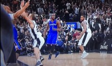 Manu Ginobili Also Committed a Foul On Dion Waiters' Inbound Pass (Pics)