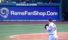 LA Angels Troll St. Louis, Force Cardinals Fans to Look At Rams Ad (Pic)