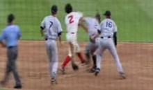 Rougned Odor Threw an Identical Punch During a Minor League Brawl Back in 2011 (Video)