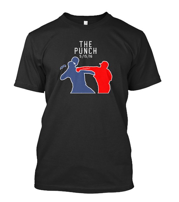 Rougned Odor punch t-shirt front