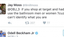 Odell Beckham TROLLS a Fan Who Asks Him Which Bathroom He Uses (PIC)