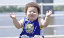 Meet 'Stuff Curry': Steph Curry's Baby Doppelgänger (Pics + Video)