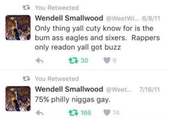 Wendell Smallwood Tweet 2011