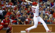 Cardinals Pitcher Adam Wainwright Smashes 408-Foot Upper Decker (Video)