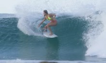 Alana Blanchard Looking Hot Tearing up Waves in Australia (Video)