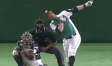 Brandon Laird Smacks a Homer Off a Beer Sign in Japanese League, Now Gets Free Beer for a Year (Video)