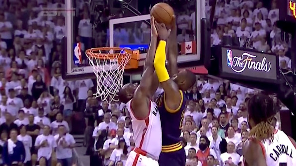 bismack biyombo rejects lebron james
