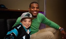 Awesome Dude Cam Newton Teams with Make-A-Wish to Make Kid's Dream Come True (Video)