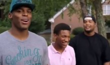 Carolina Panthers QB Cam Newton Drops A Freestyle With His Brothers (Video)