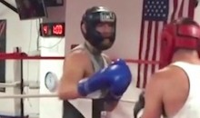 New Video of Conor McGregor Boxing at L.A. Gym Means He's Definitely Fighting Mayweather, Right?