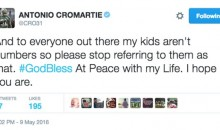 Antonio Cromartie Doesn't Appreciate People Referring To His Kids As Numbers