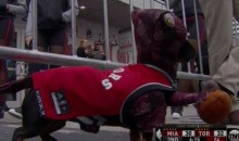 'Crusoe the Celebrity Dachshund' Supports the Raptors by Dressing Up As One (Video)