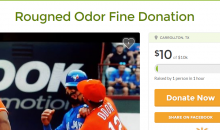 GoFundMe Accounts Started to Pay Odor's Fine For Punching Bautista
