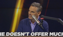 "Colin Cowherd On Steph Curry: ""Once His Shot Fades He Doesn't Offer Much, Does He?"" (Video)"