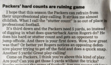 Fan Thinks Aaron Rodgers Is 'Ruining The Game Of Football' With His Hard Counts