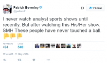 Rockets PG Pat Beverley Goes Back & Forth With Jemele Hill & Michael Smith On Twitter