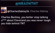 "Barkley Responds To Charles Oakley: ""He's Not Important Enough For Me To Think About"" (Video)"
