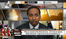 Stephen A. Smith: 'Christian McCaffrey Can Blame His Own (White) People For Not Getting Respect' (Video)