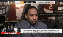 Stephen A. Smith: 'LeBron Won't Be The King Anymore If He Loses To Curry Again' (Video)