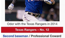 Rougned Odor Gets A Wikipedia Update After Punching Jose Bautista
