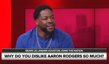 "Lamarr Houston on Aaron Rodgers: ""He's A Little Arrogant For Me. He's A Little Too Arrogant"" (Video)"