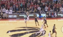 Raptors' Kyle Lowry Sends Game Into Overtime After Hitting Half-court Shot (Video)