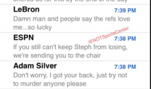 Draymond Green's Text Messages Revealed After NBA Opted Not To Suspend Him