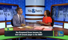 Jemele Hill Wonders If Draymond Green Has Passed LeBron As The Best Player In The League (Video)