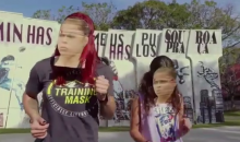 Cris Cyborg Does The 'Running Man Challenge' With Rousey Mask On To Get Ronda To Fight Her (Video)