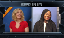 "Annie Apple on Her Son Eli: ""He's Like A Little Version of A Black Eli Manning"" (Video)"