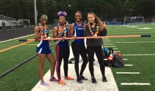 Girls High School Relay Team Uses High Jump Bar Instead of Baton in 4×100, Actually Wins Race (Video)