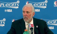 The Gregg Popovich Post-Elimination Press Conference Was Nice and Salty (Video)