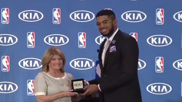 karl-anthony towns donates car