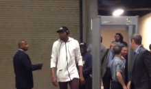 Kevin Durant Can't Be Bothered with Arena's Metal Detector, Just Walks Around It (Video)