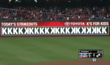 Max Scherzer Ties The MLB Record With 20 Strikeouts Against His Former Team (Video)