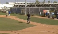 If You're Gonna Be a High School Umpire, You May as Well Dance Like This Guy (Video)