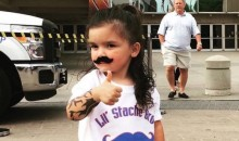 If You're Not Rooting for the OKC Thunder, You Will Be After You Meet Mini Steven Adams (Pics)