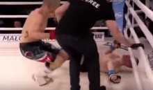 MMA Fighter Suffers Nasty Arm Break After Elbow Bends the Wrong Way (Video)
