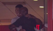Scottie Pippen Swung by MJ's Luxury Suite During Charlotte's Game 7 Loss (Video)