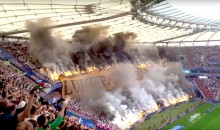 Unbelievable Images From Wednesday's Polish Cup Final Suggest All Hell LITERALLY Broke Loose (Video + Pics)