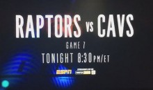 ESPN Accidently Aired Raptors-Cavs Game 7 Promo (Video)