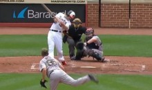 Filthy Steven Wright Knuckleball Defies Laws of Physics, Twists Chris Davis Up Like a Pretzel (Video)