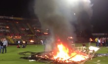 Turkish Soccer Fans Set Fire to Stadium After Season-Ending Loss Guarantees Relegation (Video)