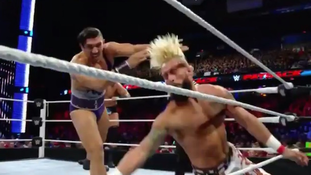 unscripted enzo amore injury wwe payback